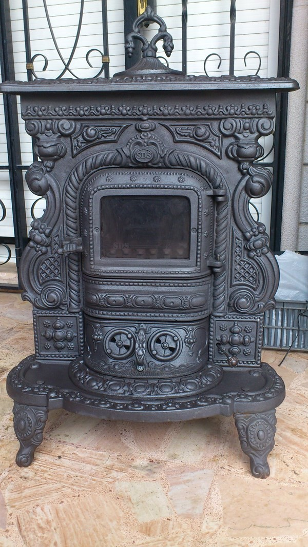rustic fireplace wood stove ستوف شومينيه