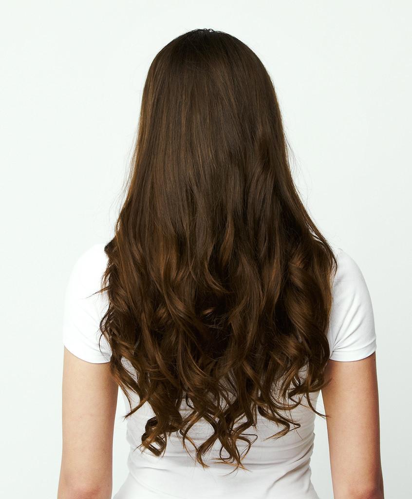 وصلات الشعر المنزليه بدون الحاجه الى الصالونات طبيعيه 100